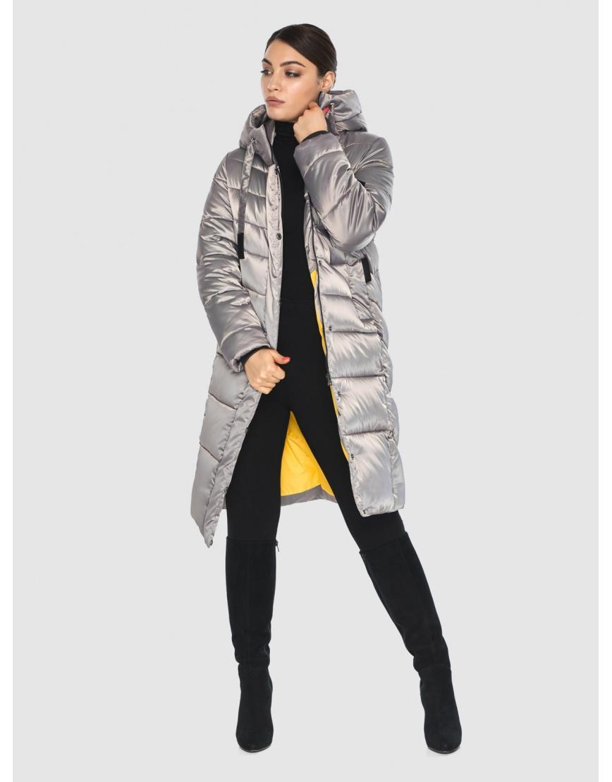 Куртка стильная кварцевая зимняя подростковая Wild Club 541-94 фото 5