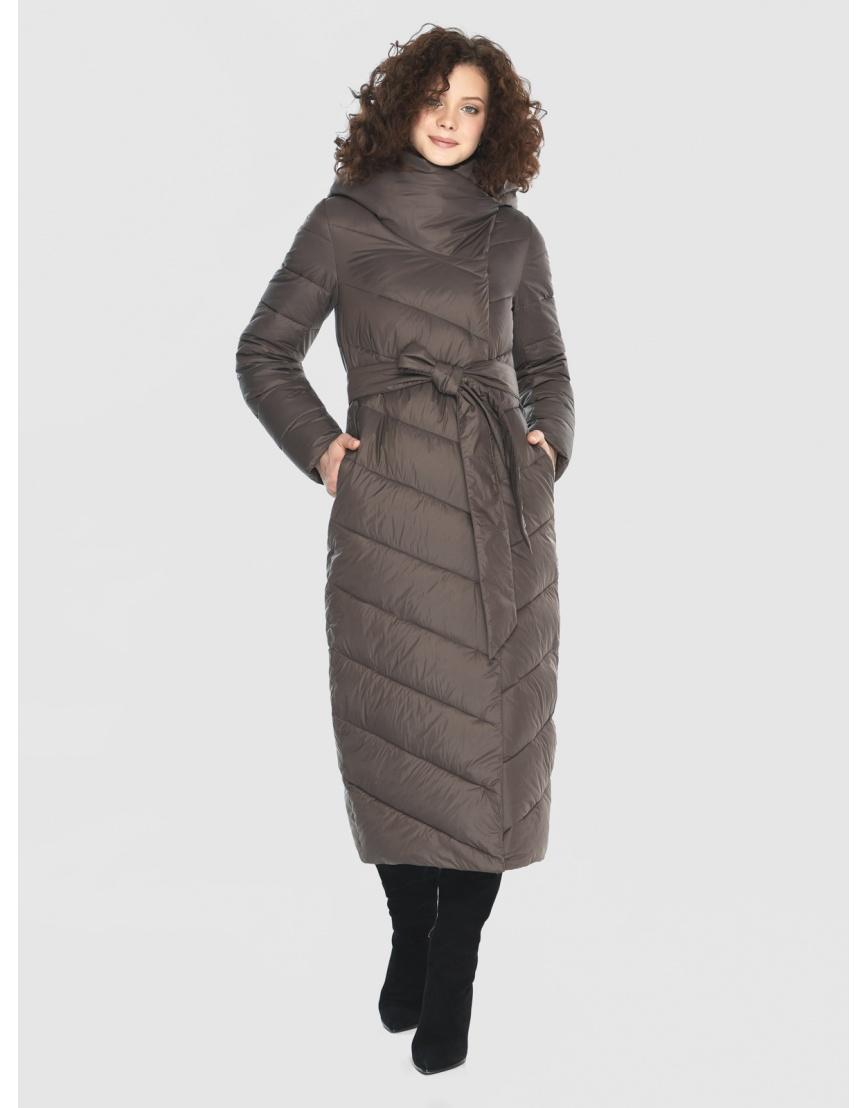 Капучиновая куртка приталенная женская Moc M6471 фото 3