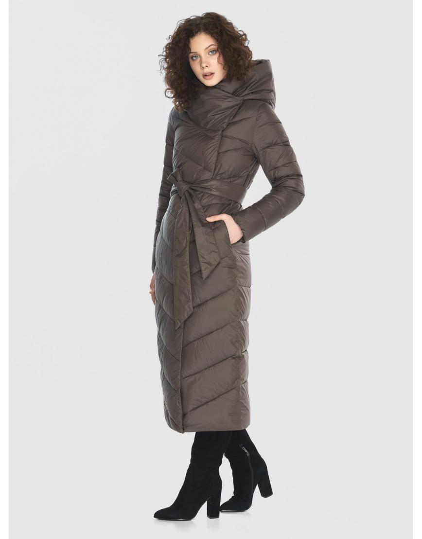 Капучиновая куртка приталенная женская Moc M6471 фото 5