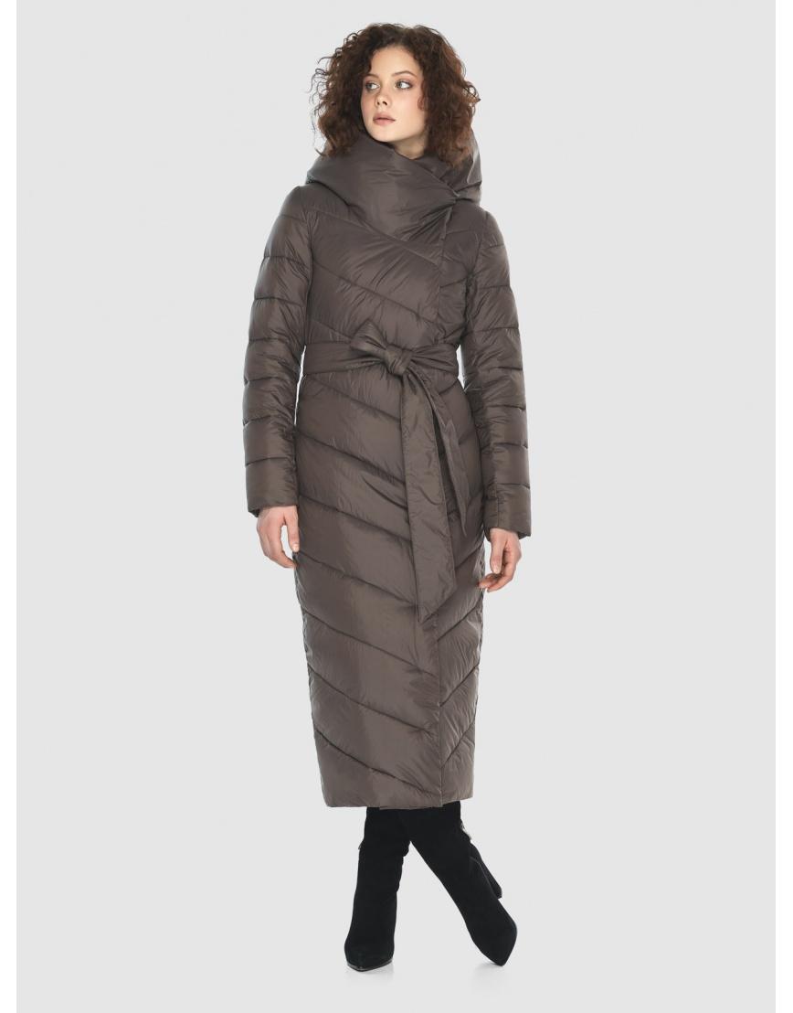 Капучиновая куртка приталенная женская Moc M6471 фото 2