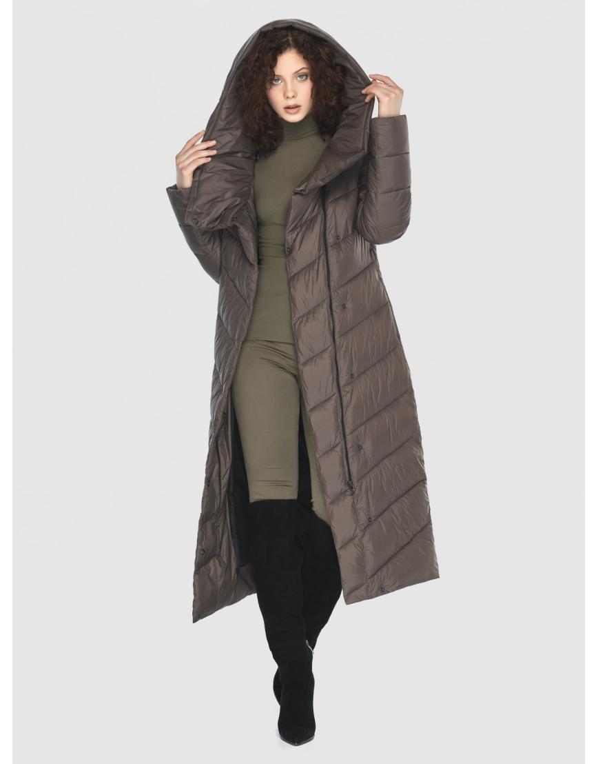 Капучиновая куртка приталенная женская Moc M6471 фото 6