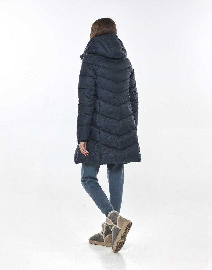 Куртка синяя женская Vivacana фирменная 7821/21 фото 3