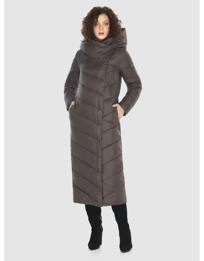 Капучиновая куртка приталенная женская Moc M6471 фото 1