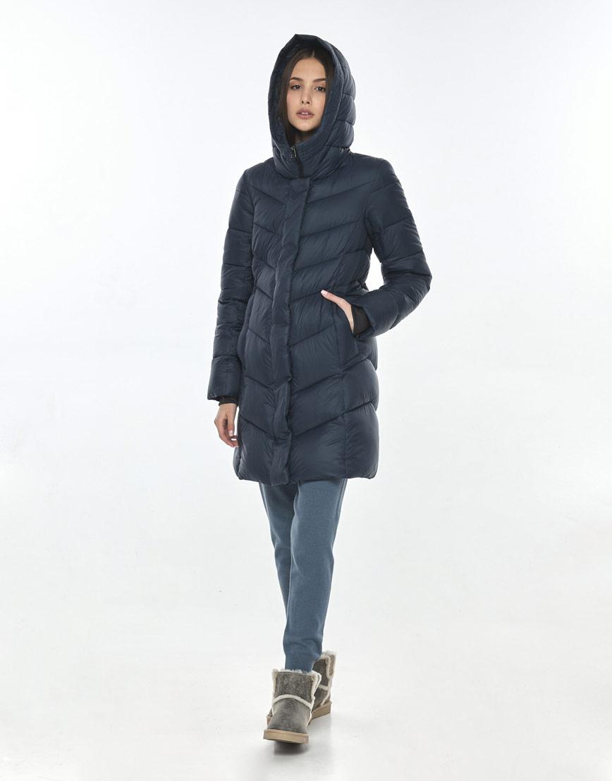 Куртка синяя женская Vivacana фирменная 7821/21 фото 1