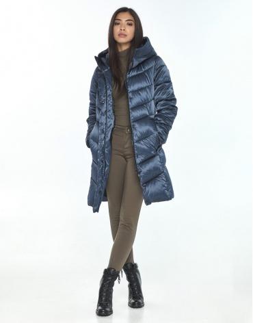 Женская куртка Moc синяя удобная M6540 фото 1