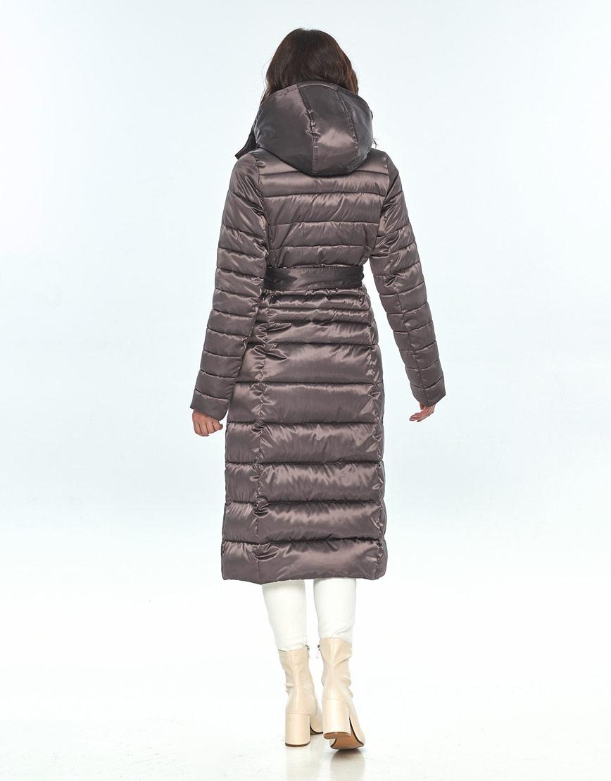 Капучиновая куртка женская Vivacana практичная 8140/21 фото 3