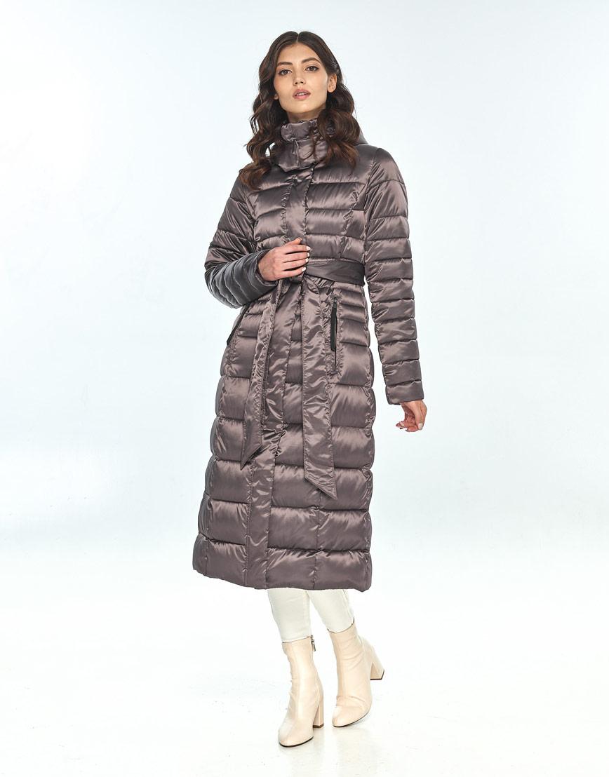 Капучиновая куртка женская Vivacana практичная 8140/21 фото 2