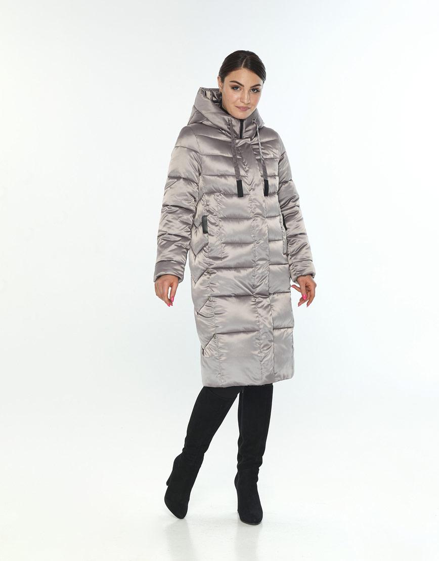 Куртка кварцевая зимняя женская Wild Club модная 541-94 фото 2