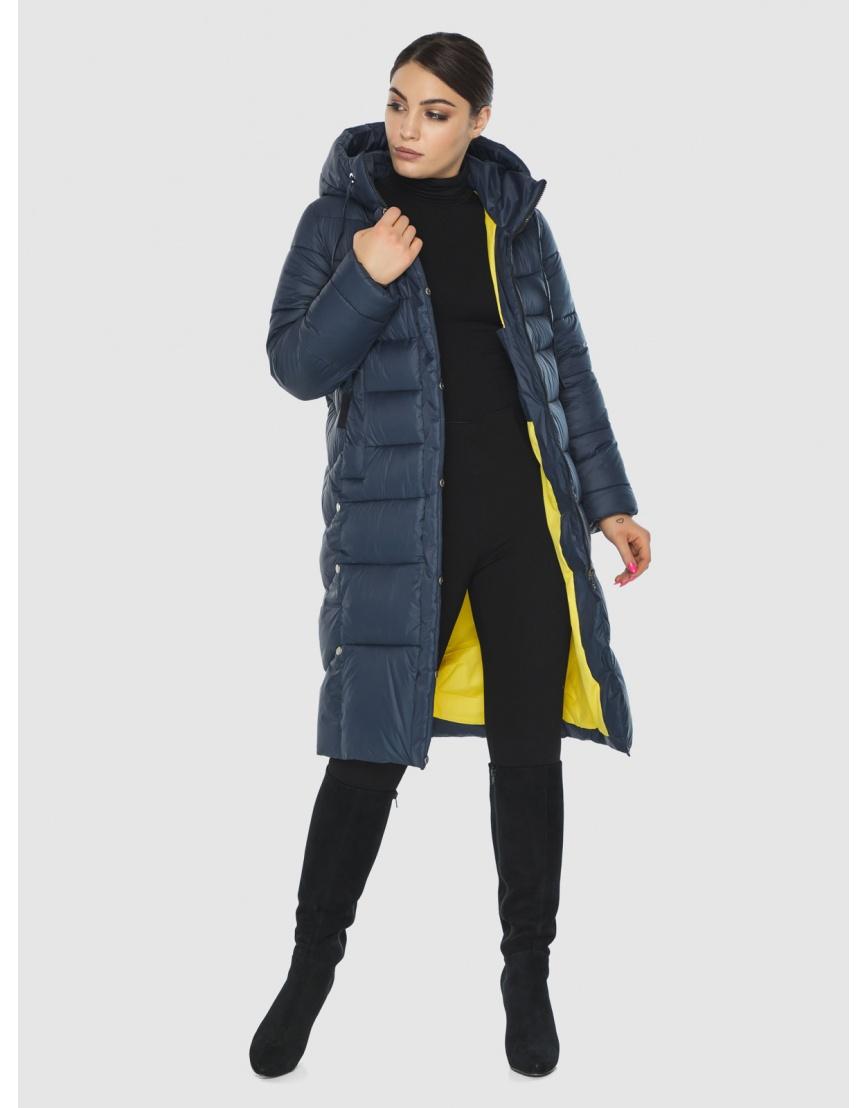 Подростковая оригинальная зимняя куртка Wild Club цвет синий 541-94 фото 2