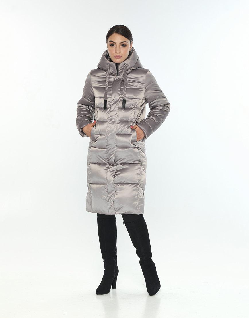 Куртка кварцевая зимняя женская Wild Club модная 541-94 фото 1