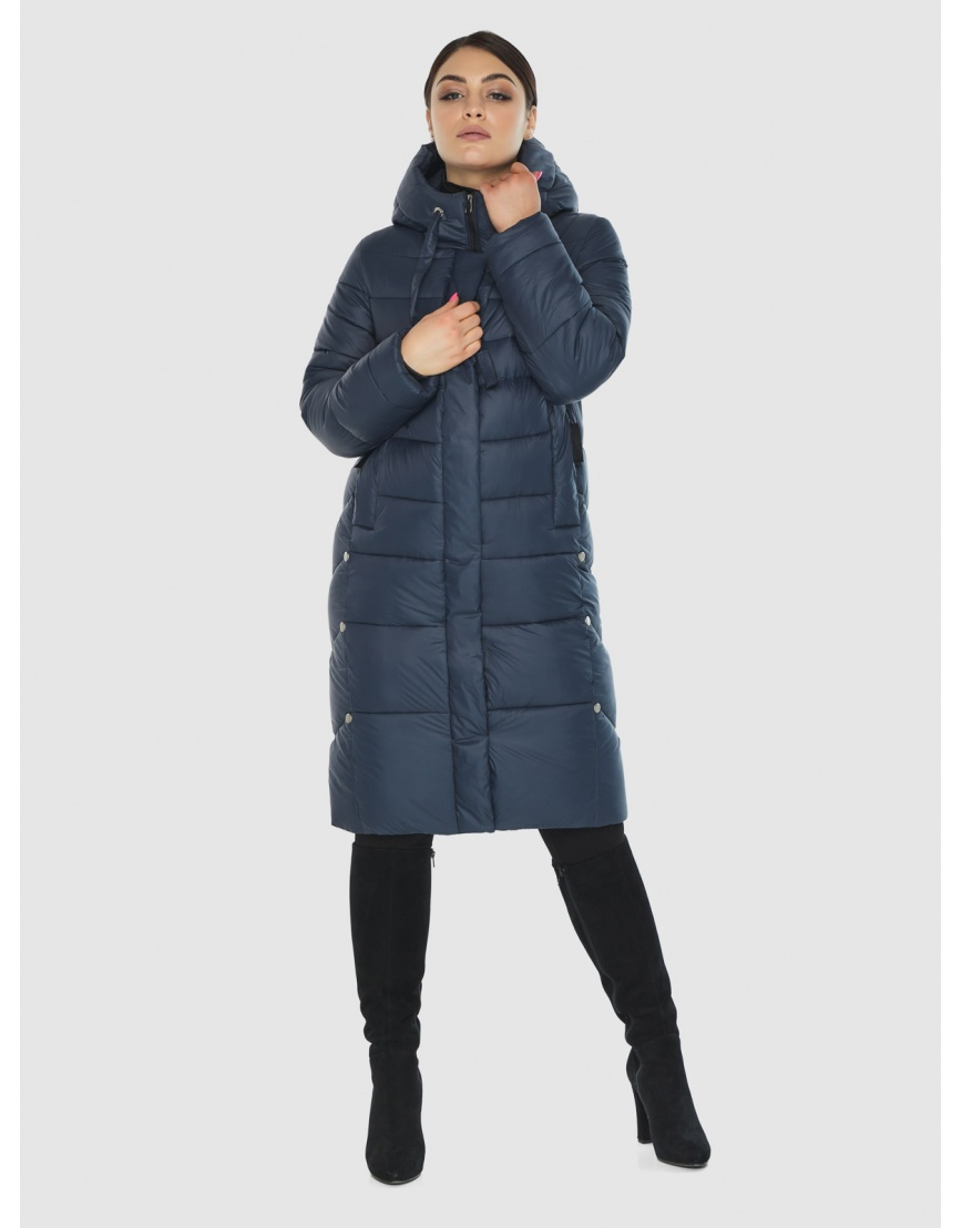 Подростковая оригинальная зимняя куртка Wild Club цвет синий 541-94 фото 6