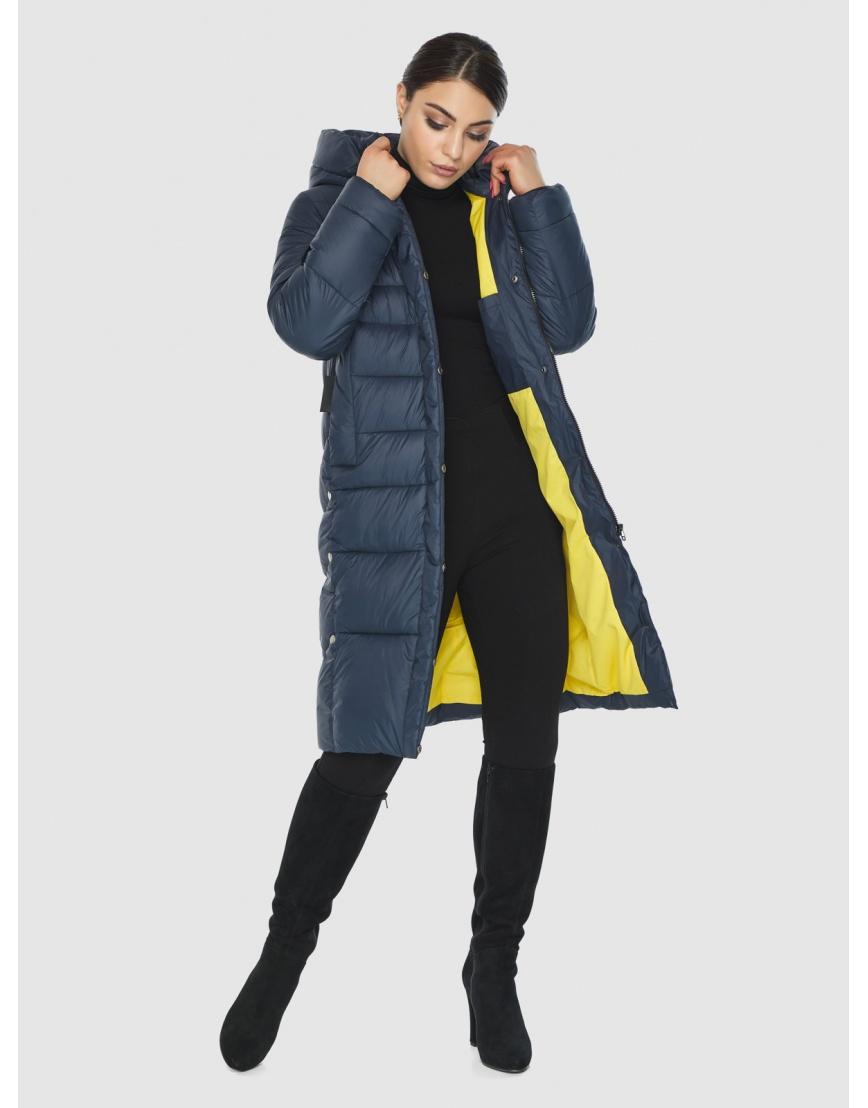 Подростковая оригинальная зимняя куртка Wild Club цвет синий 541-94 фото 5