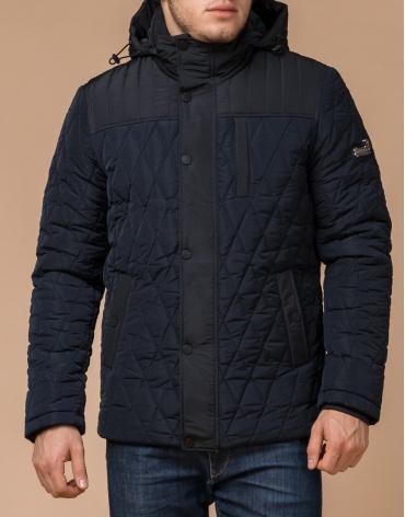 Куртка синяя с капюшоном модель 30538 фото 1