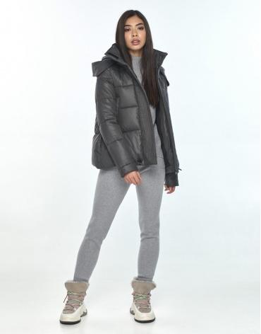 Серая оригинальная куртка подростковая Moc зимняя M6981 фото 1