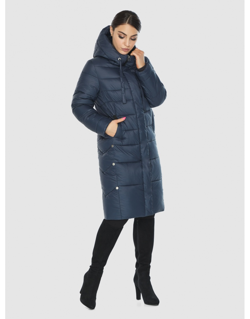 Подростковая оригинальная зимняя куртка Wild Club цвет синий 541-94 фото 1