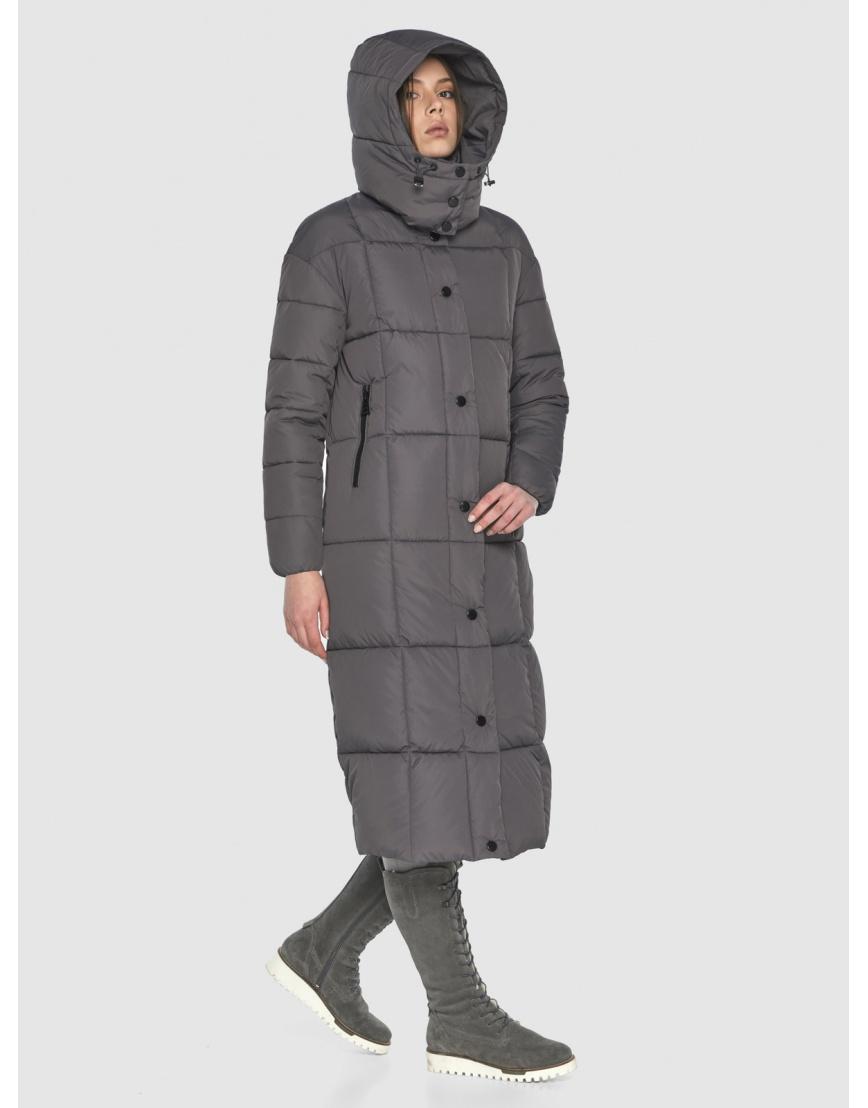Серая практичная куртка Wild Club зимняя на подростка 541-74 фото 3