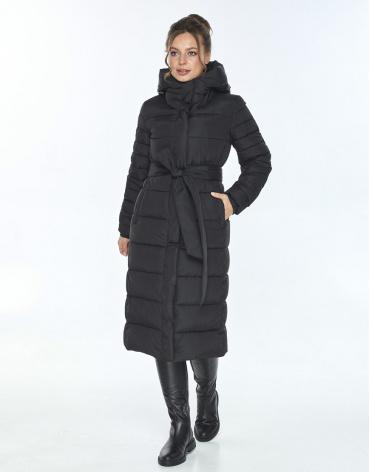 Трендовая женская куртка Ajento зимняя чёрная 21152 фото 1