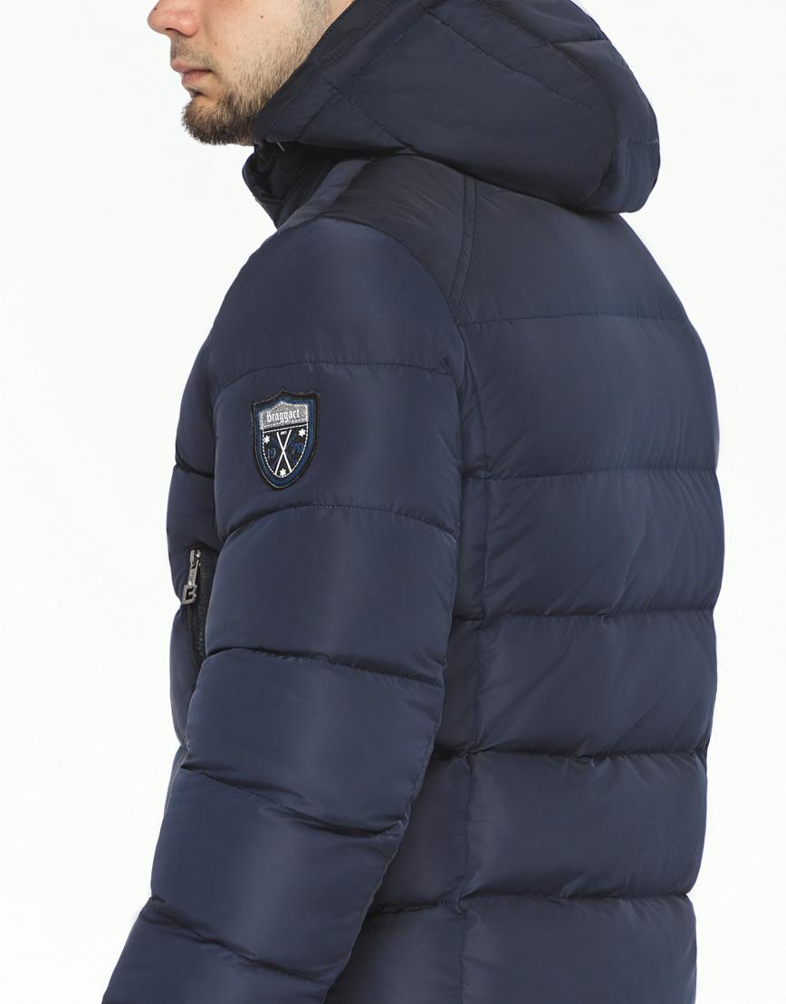 Куртка темно-синяя зимняя мужская модель 36470 оптом