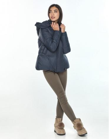 Подростковая синяя куртка удобная Moc зимняя M6981 фото 1