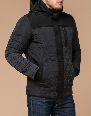 Стеганая куртка графитового цвета модель 30538 фото 1