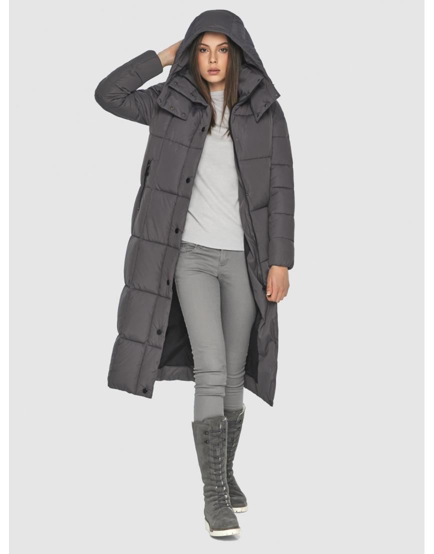 Серая практичная куртка Wild Club зимняя на подростка 541-74 фото 2