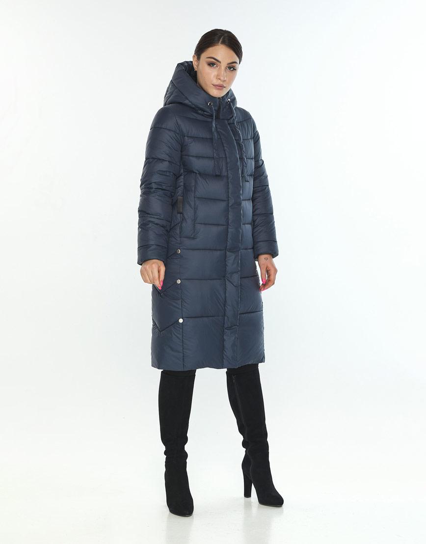 Куртка удобная на зиму женская Wild Club цвет синий 541-94 фото 1