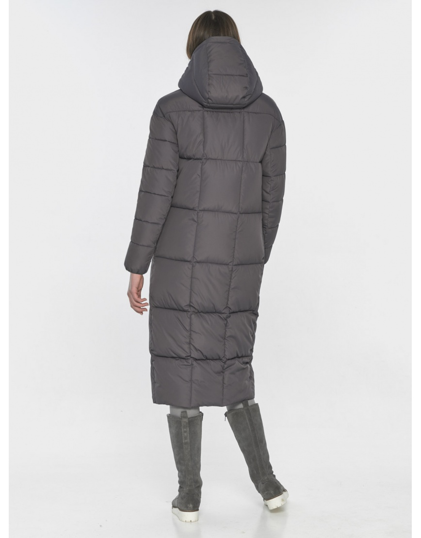 Серая практичная куртка Wild Club зимняя на подростка 541-74 фото 5