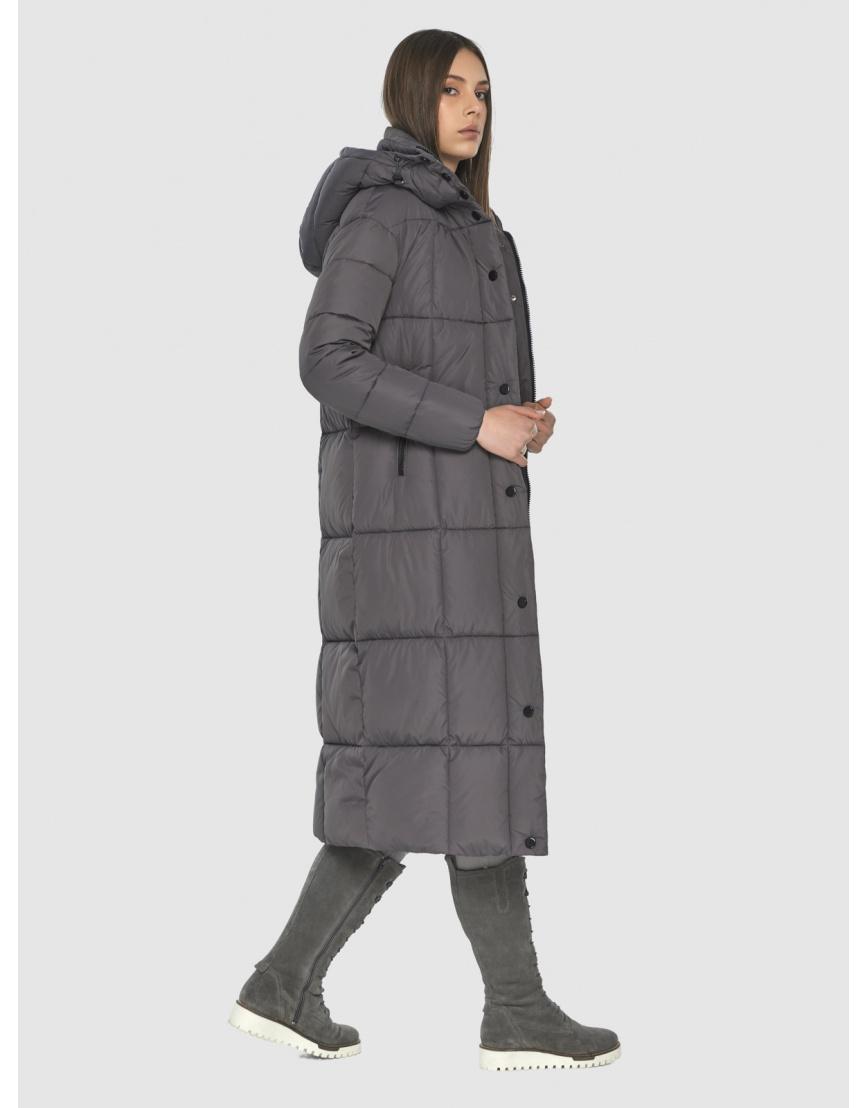 Серая практичная куртка Wild Club зимняя на подростка 541-74 фото 4