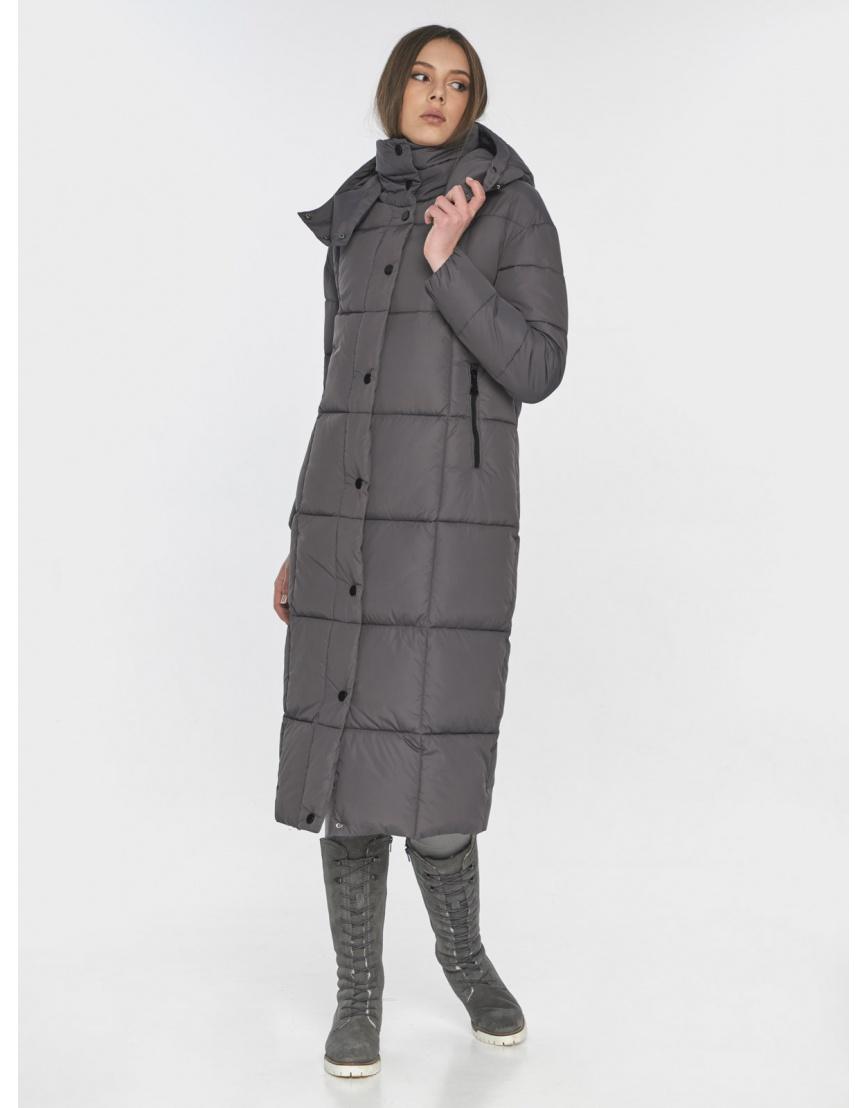 Серая практичная куртка Wild Club зимняя на подростка 541-74 фото 6