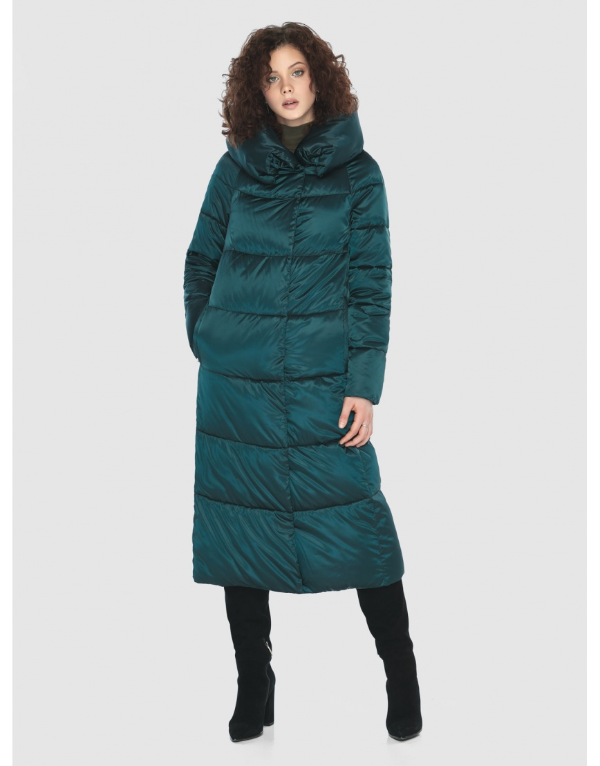 Зелёная практичная куртка женская Moc M6530 фото 2