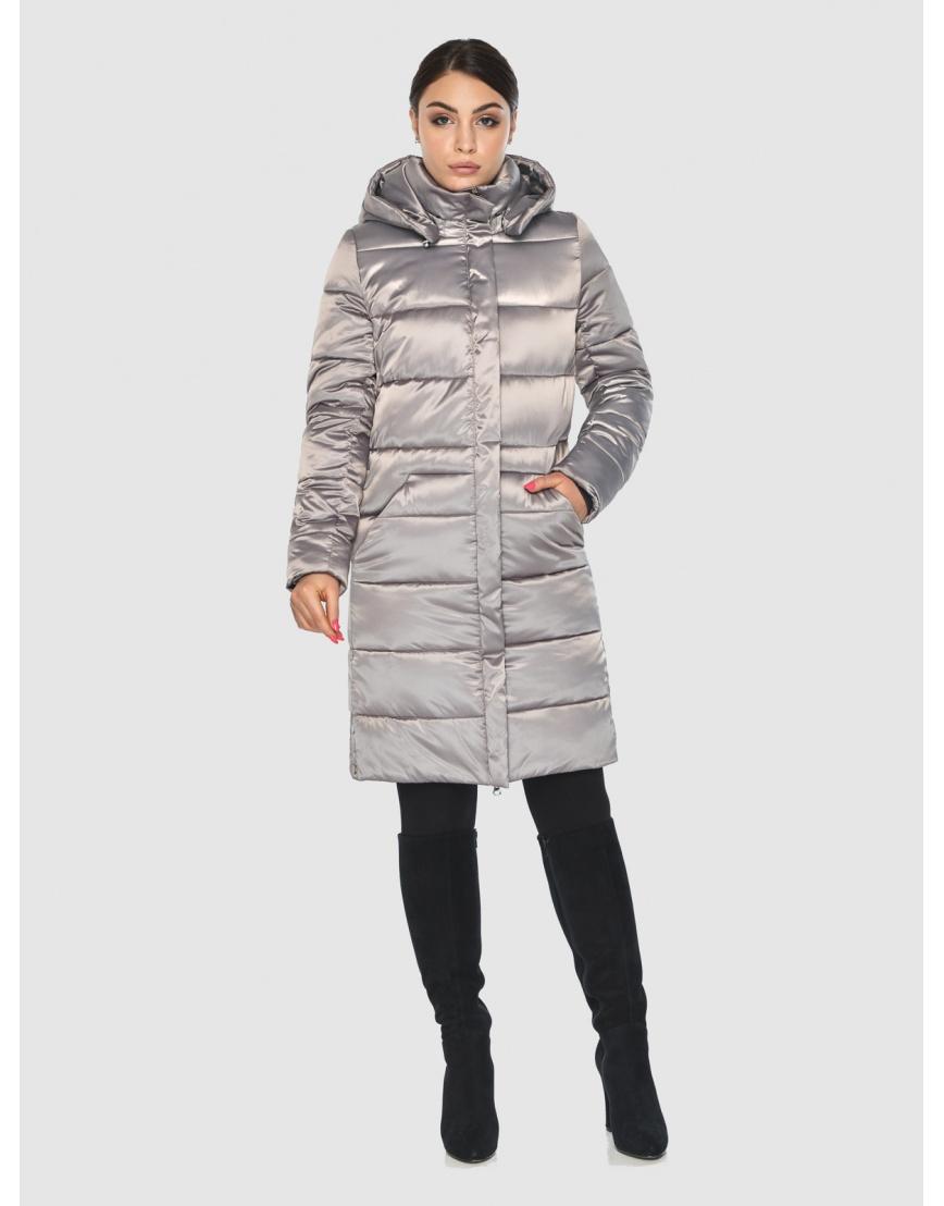 Куртка стильная зимняя подростковая Wild Club кварцевая 584-52 фото 2
