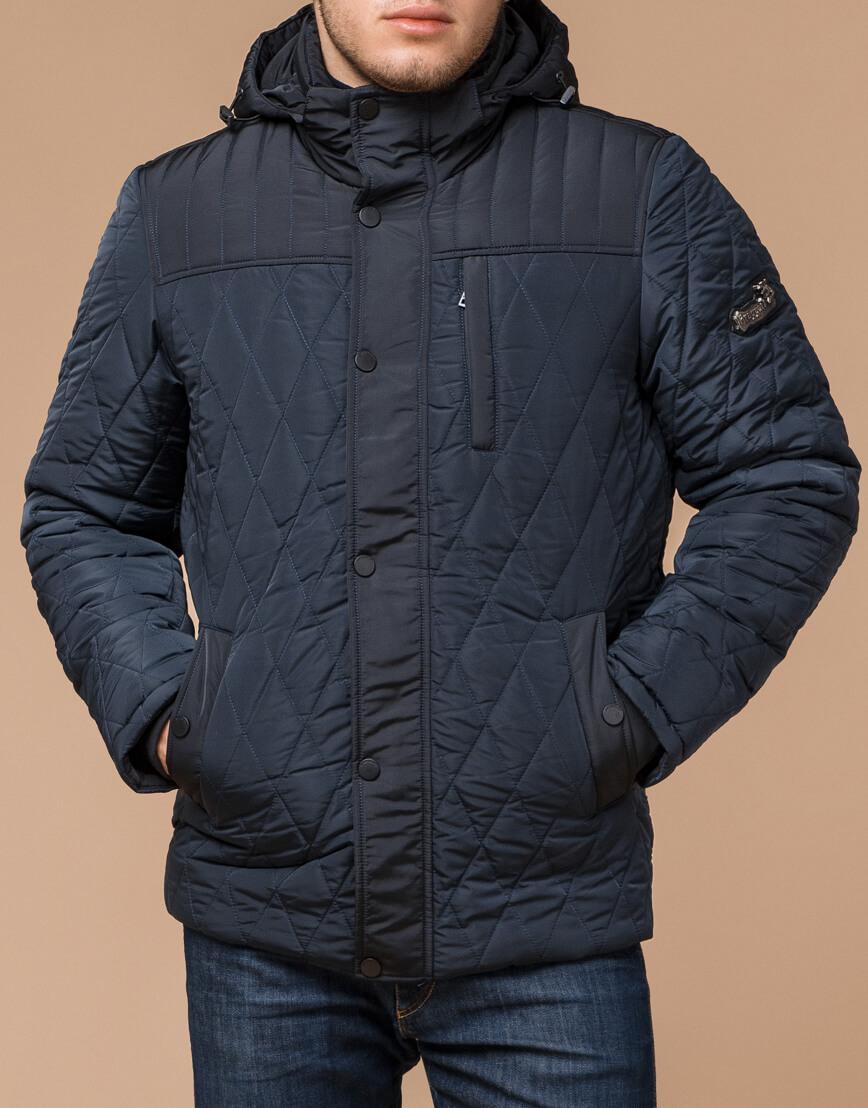 Теплая светло-синяя куртка на зиму модель 30538 фото 2