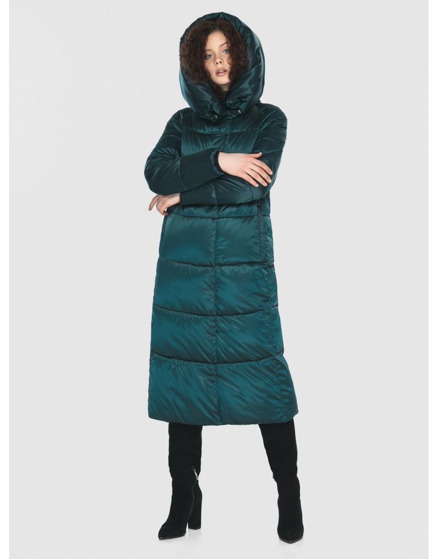 Зелёная практичная куртка женская Moc M6530 фото 5