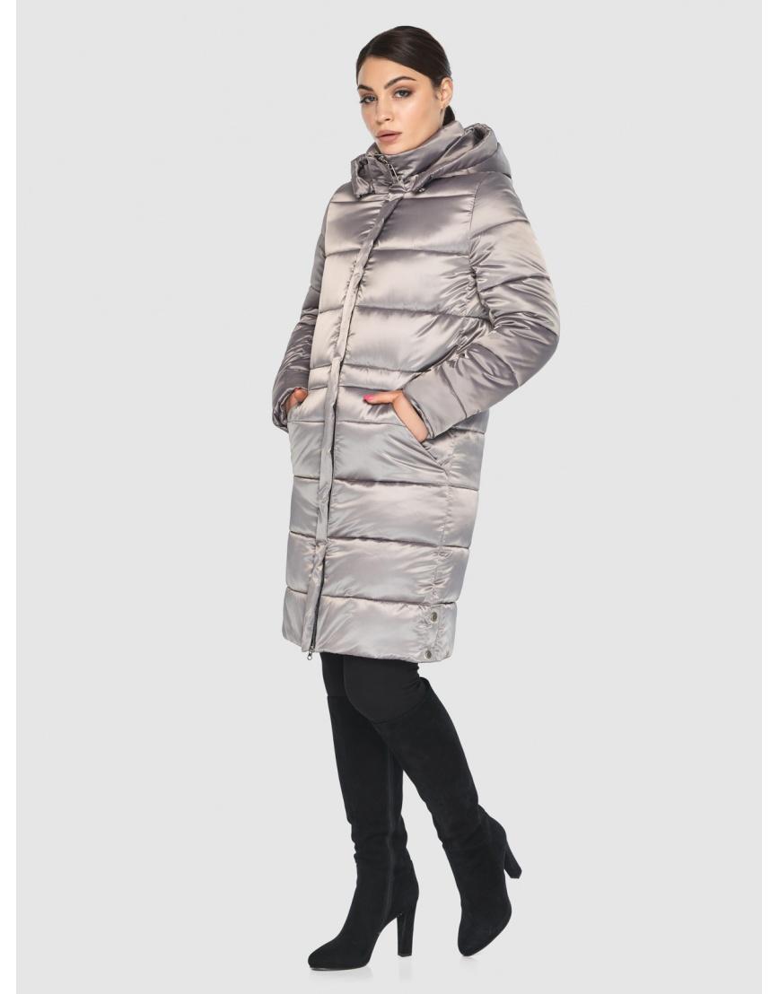 Куртка стильная зимняя подростковая Wild Club кварцевая 584-52 фото 3