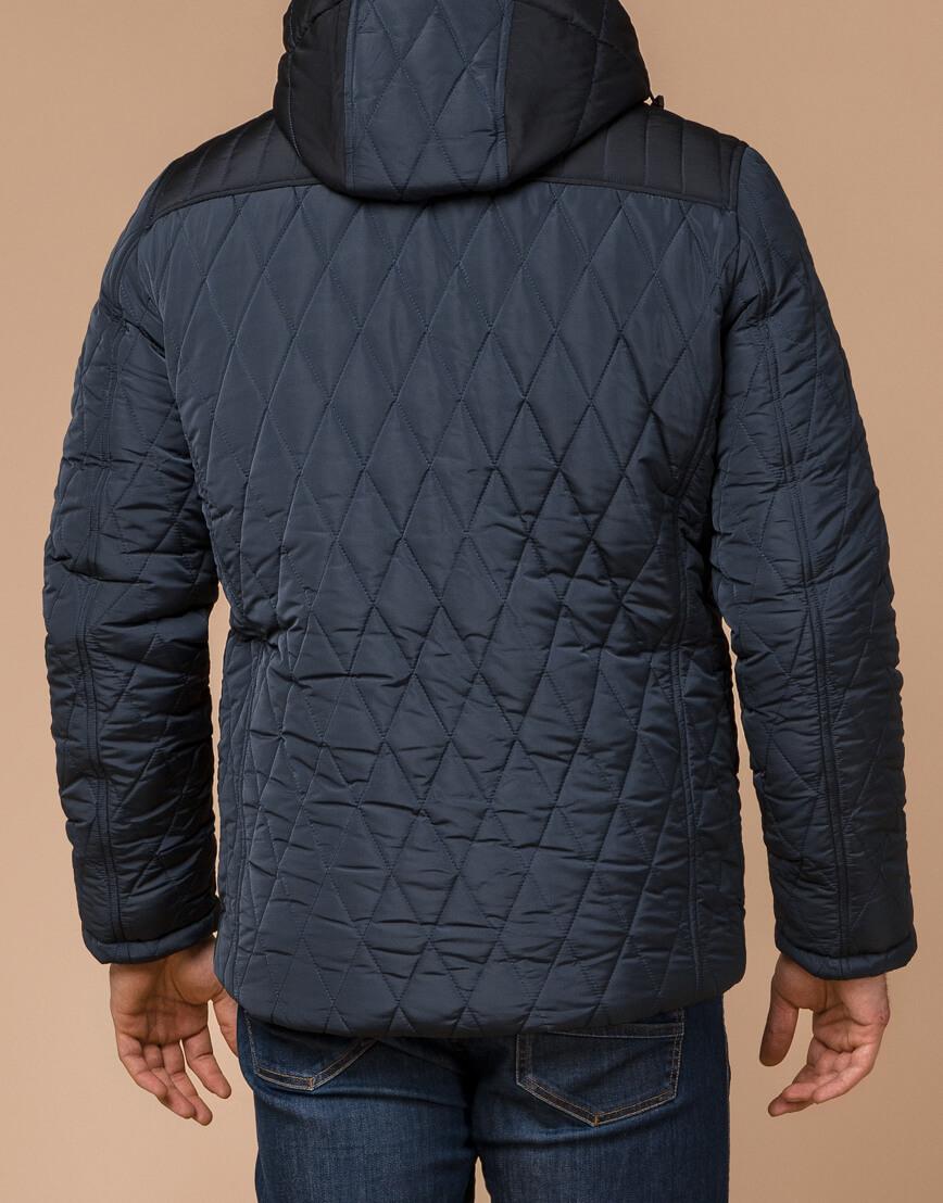 Теплая светло-синяя куртка на зиму модель 30538 фото 3