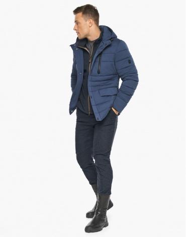 Воздуховик зимний Braggart мужской цвет джинс модель 15078 оптом фото 1