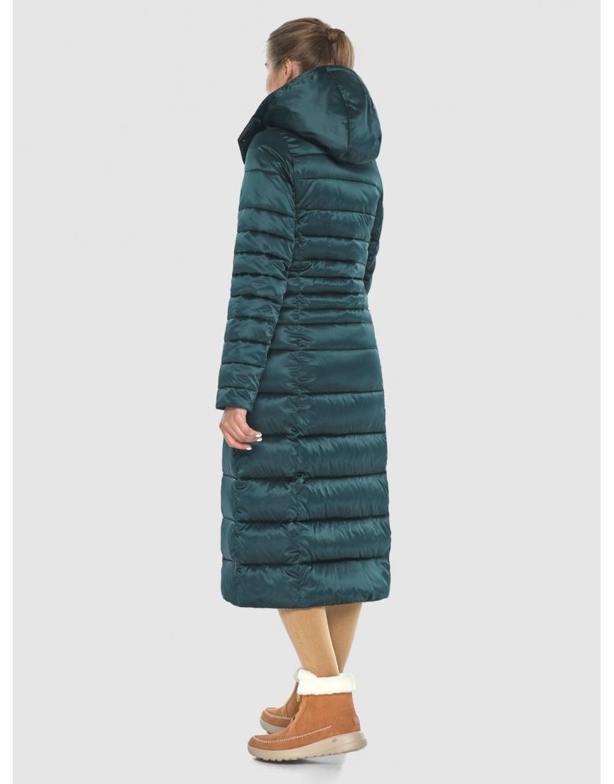 Куртка зелёная оригинальная женская Ajento 21375 фото 4