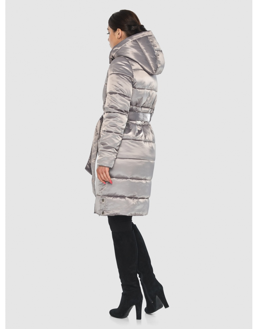 Куртка стильная зимняя подростковая Wild Club кварцевая 584-52 фото 4