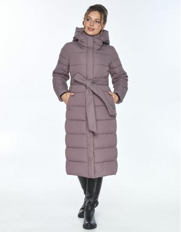 Куртка комфортная женская Ajento зимняя цвет пудра 21152 фото 1