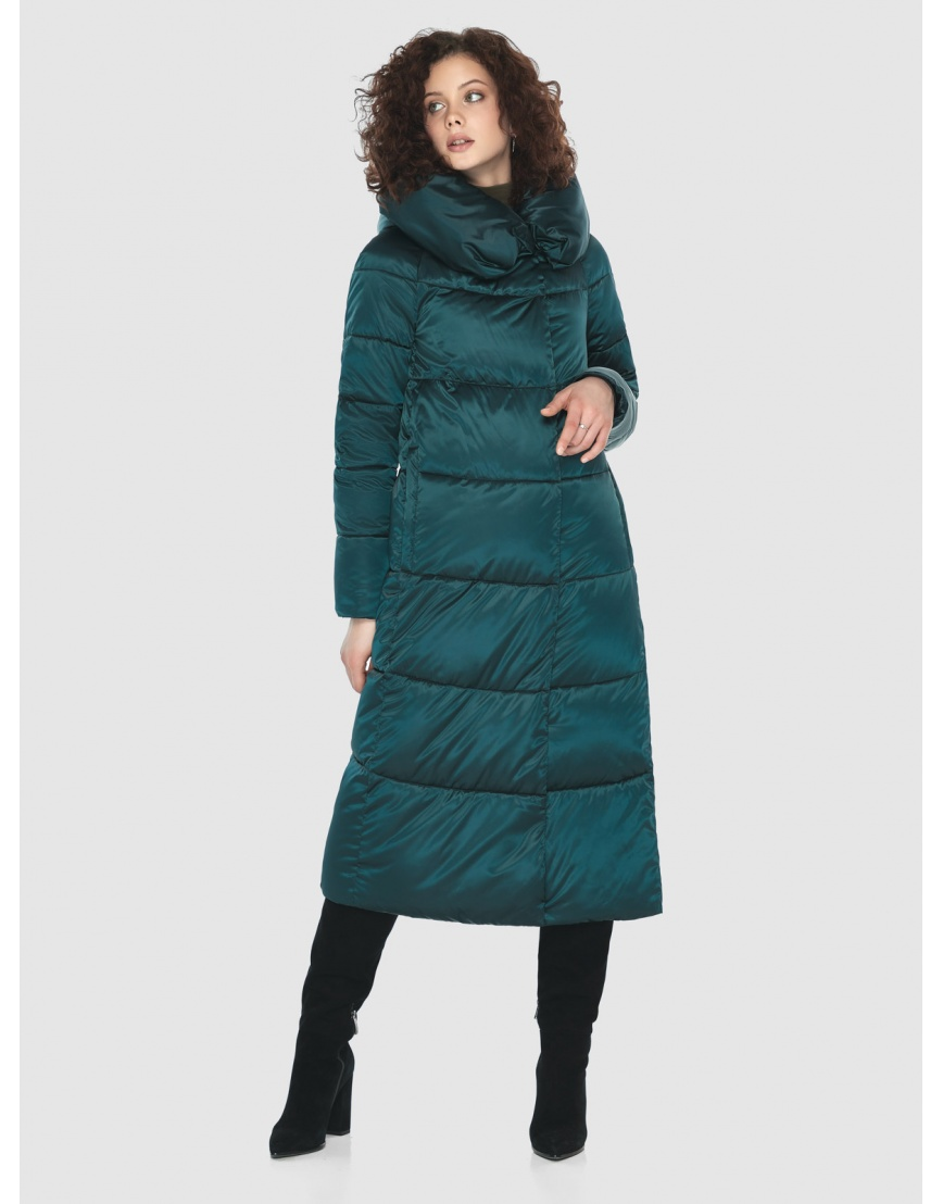 Зелёная практичная куртка женская Moc M6530 фото 1