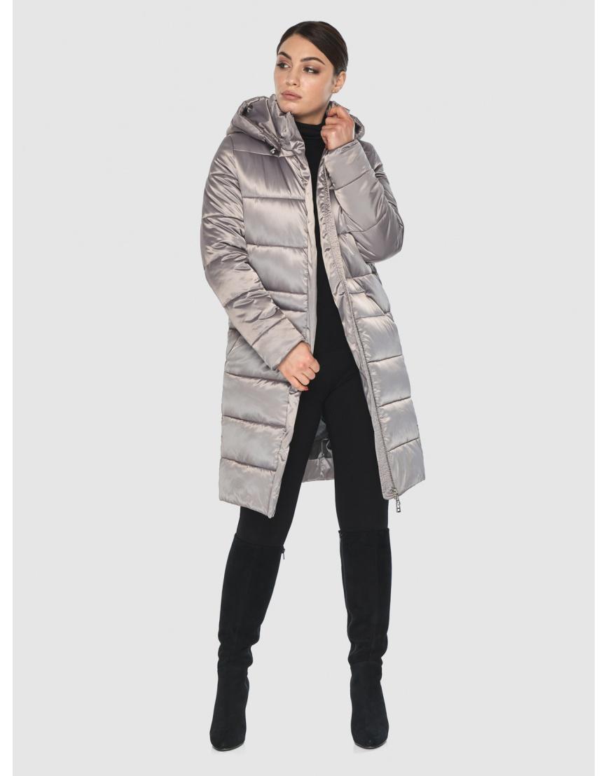 Куртка стильная зимняя подростковая Wild Club кварцевая 584-52 фото 6