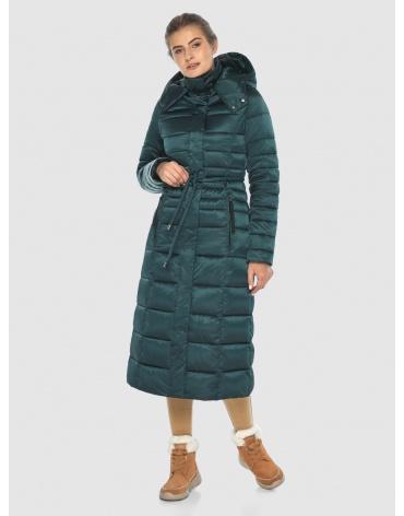Зелёная элегантная куртка подростковая Ajento для зимы 21375 фото 1