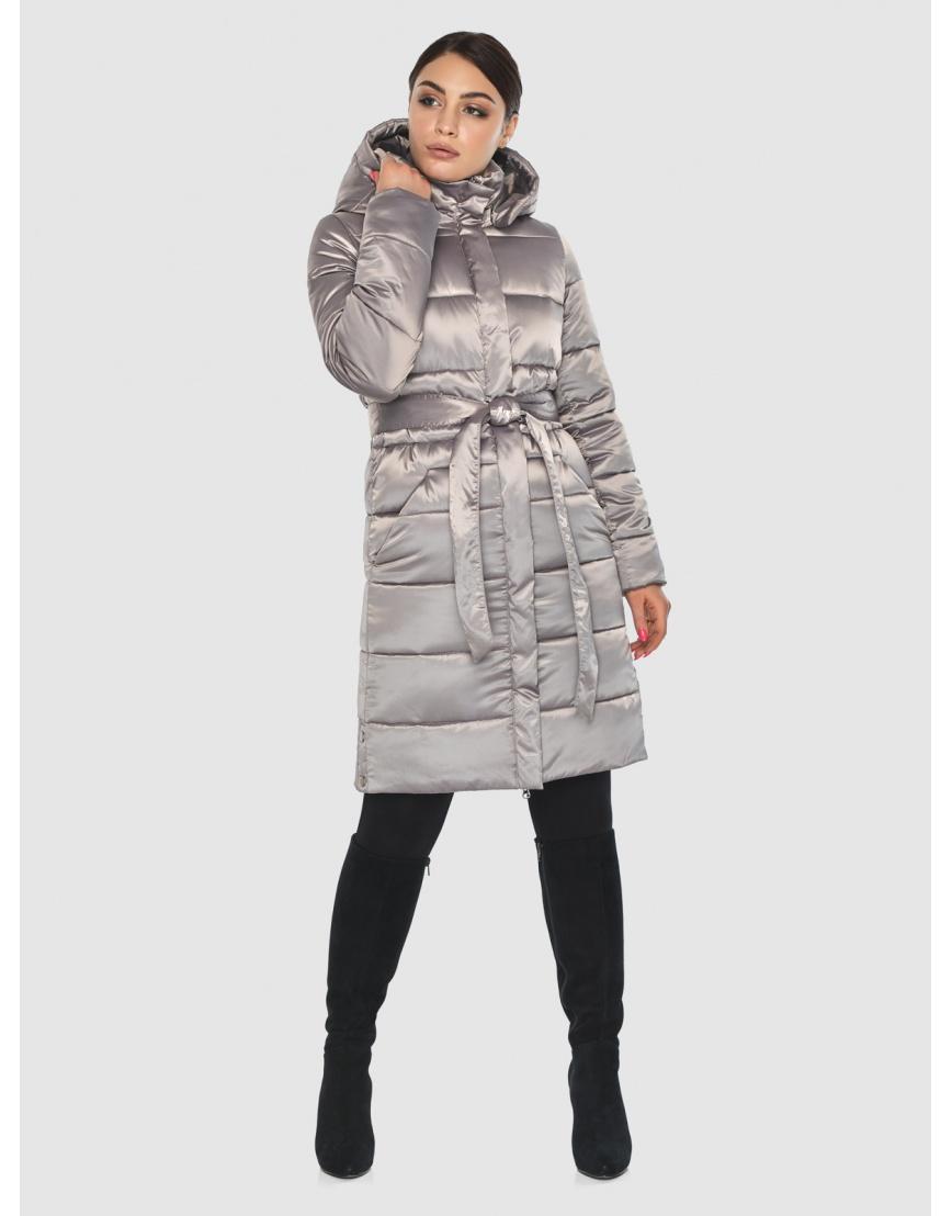 Куртка стильная зимняя подростковая Wild Club кварцевая 584-52 фото 1