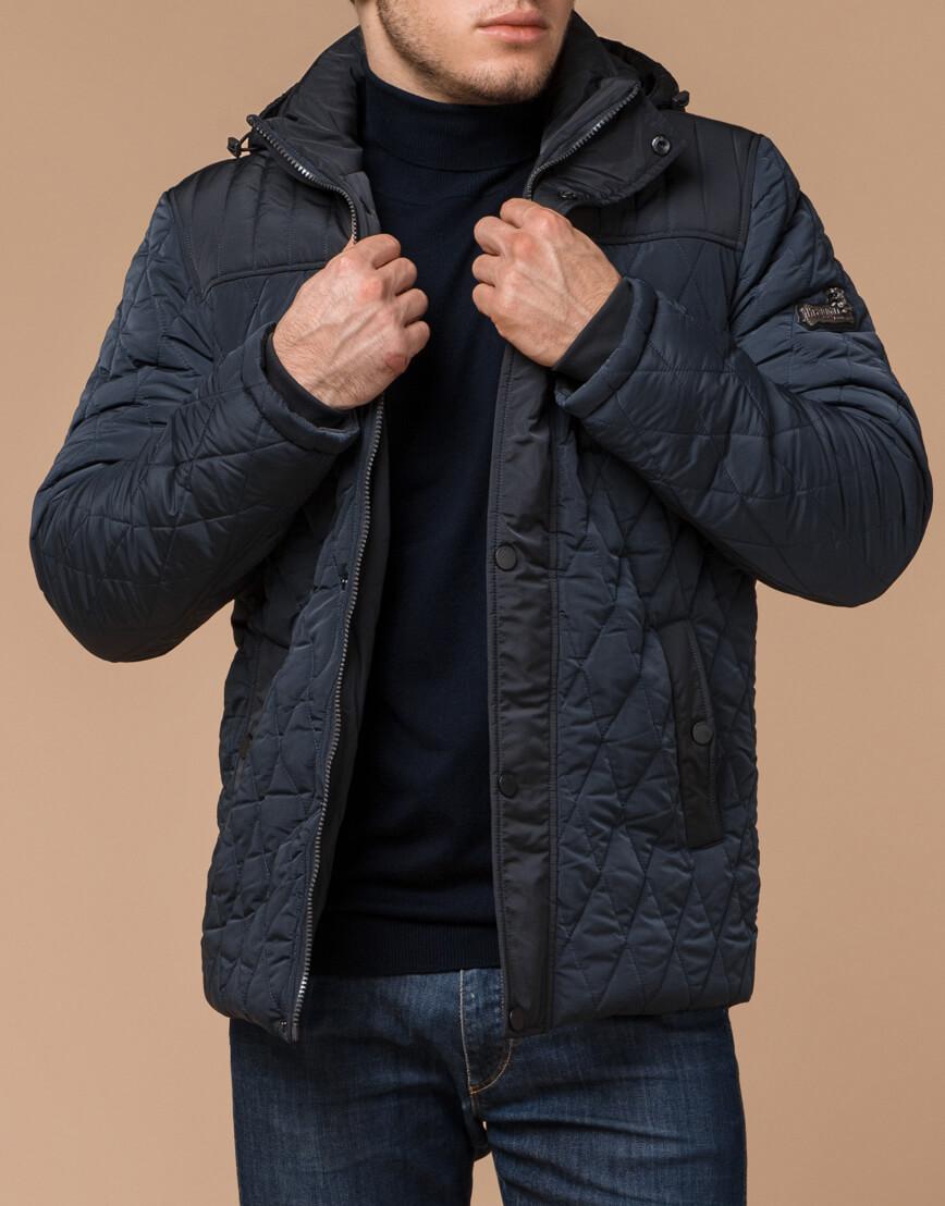 Теплая светло-синяя куртка на зиму модель 30538 фото 1