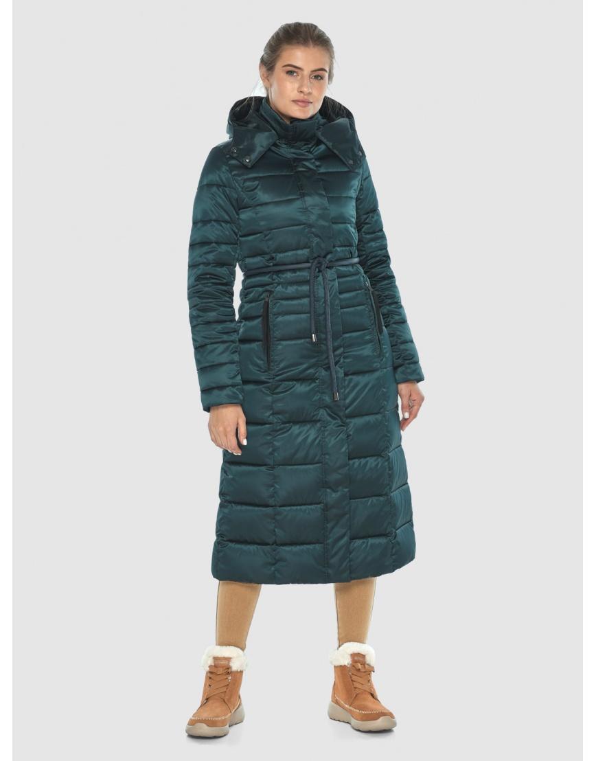 Куртка зелёная оригинальная женская Ajento 21375 фото 1
