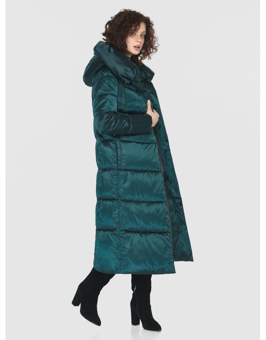Зелёная практичная куртка женская Moc M6530 фото 6
