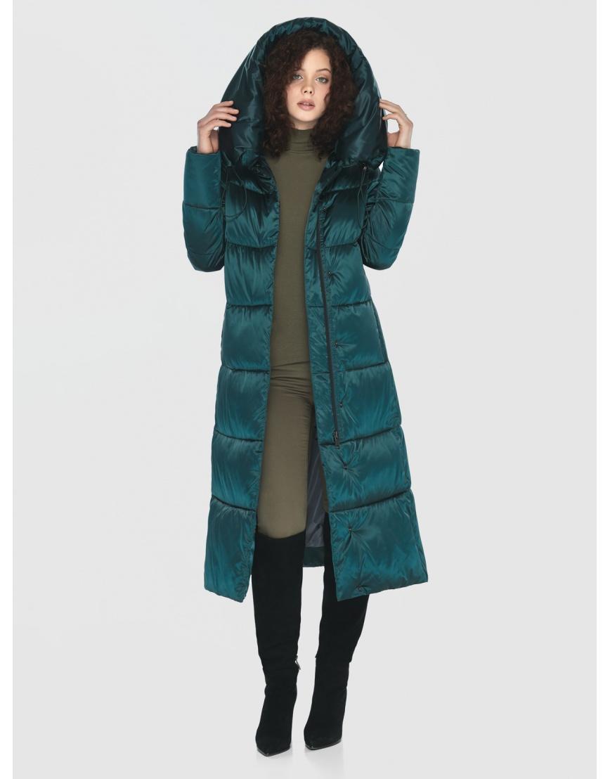 Зелёная практичная куртка женская Moc M6530 фото 3