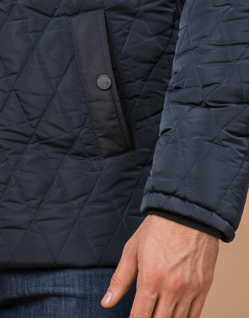 Теплая светло-синяя куртка на зиму модель 30538 фото 5