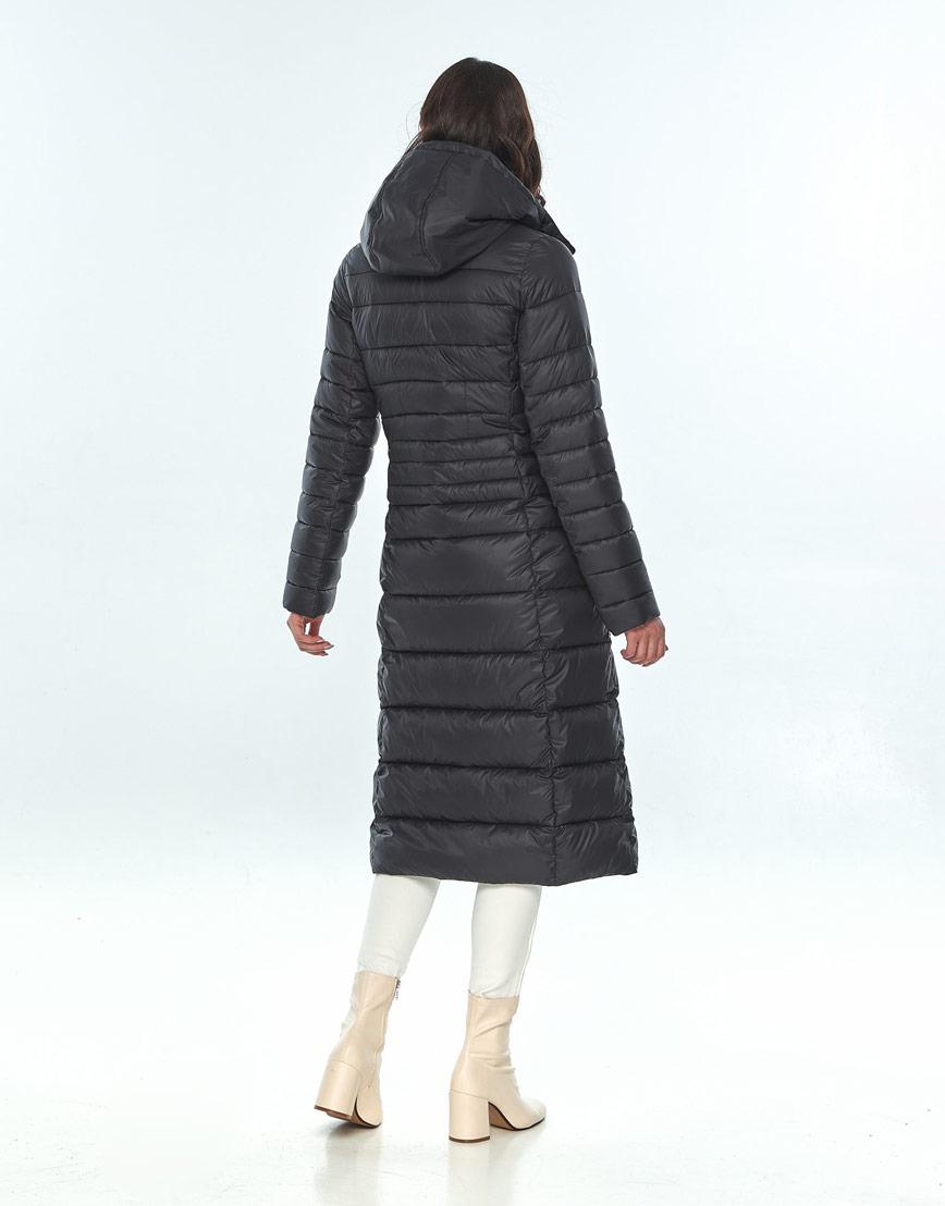 Куртка с поясом женская Vivacana чёрная 8140/21 фото 3