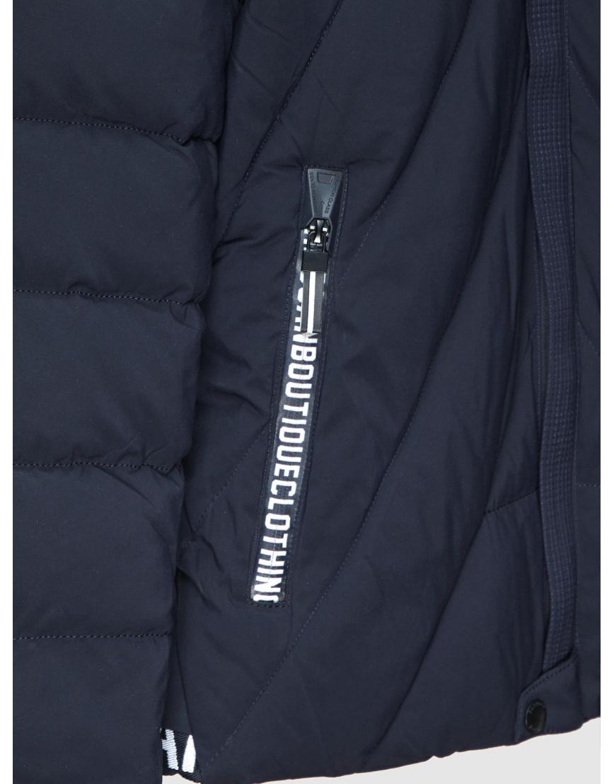 50 (L) – последний размер – куртка мужская зимняя синяя Haolilai 200001 фото 3